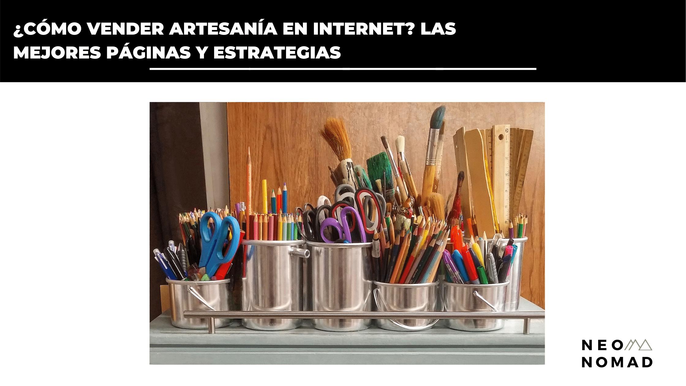 vender artesanía en internet para nomadas digitales